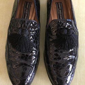 Stuart Weitzman Black Patent leather flats